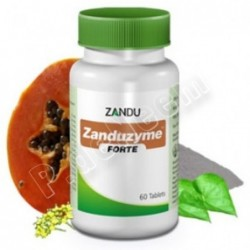 Zanduzyme Forte Tabletas, con papaya. Acidez,...