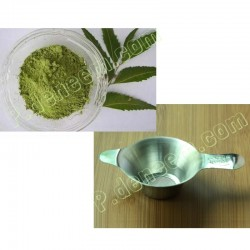 Leaf neem tea + Stainless steel filter